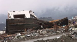 Damage from the Tsunami in Japan